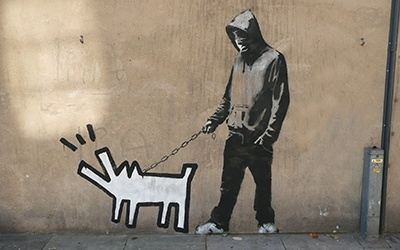 Banksy, Southwark, London, 2010